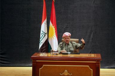 در نشست انجمن کادررهبری حزب متبوعش حزب دمکرات کردستان (پارتی) به ایراد سخنرانی پرداخت
