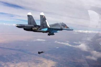 بمباران جنگندههای روسیه
