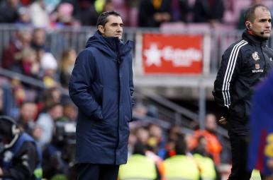 ارنستو والورده، سرمربی تیم فوتبال بارسلونا