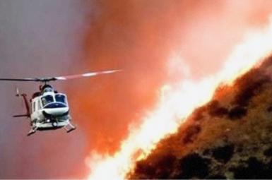 آتش در جنگل مُنگره اندیمشک در استان خوزستان