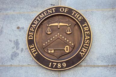 وزارت خزانه داری امریکا