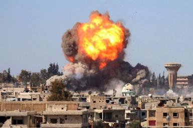 انفجار انبار اسلحه در درعا