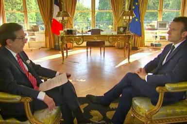 امانوئل ماکرون، رئیسجمهور فرانسه در مصاحبهای با شبکه فاکسنیوز آمریکا