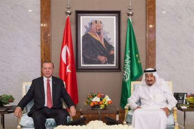 اردوغان وارد جده شد و به دیدار ملک سلمان رفت