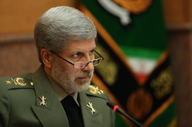سرتیپ امیر حاتمی، وزیر دفاع جمهوری اسلامی ایران