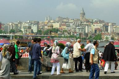 A general view of Istanbul. FILE