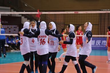 والیبال زنان آسیا