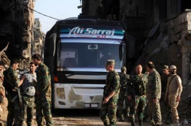 حومه شمالی حمص و حومه جنوبی حماه