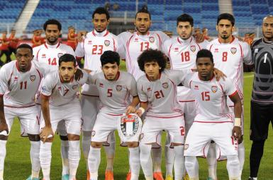 مسابقهی فوتبال عراق و امارات