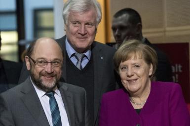 اعضای حزب سوسیال دموکرات آلمان به دولت ائتلاف بزرگ رأی مثبت داد