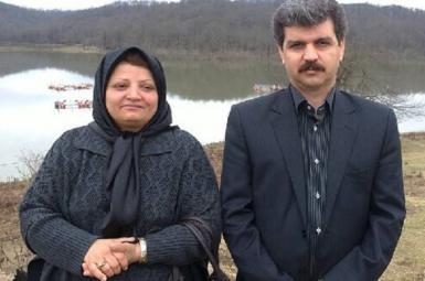 رضا شهابی و همسرش