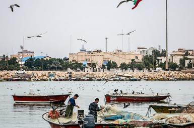 اسکله صیادی جفره بوشهر