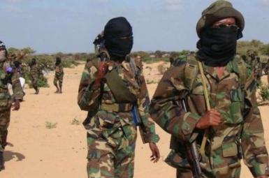تعدادی از نیروهای وابسته به گروه الشباب در سومالی