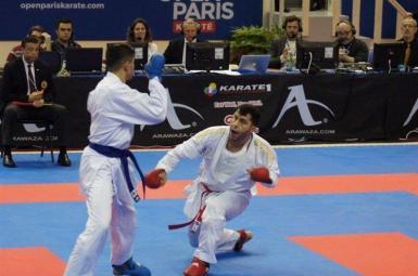 کاراته وان پاریس، ایران ۲ نشان طلا و ۵ برنز کسب کرد
