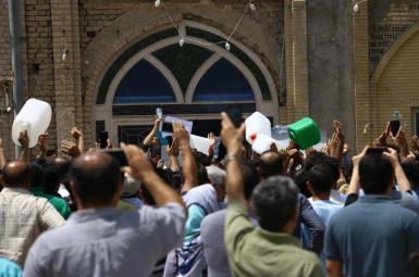 تجمعهای اعتراضی در استان خوزستان