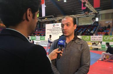 سیروس رضایی، دبیر کمیته فنی فدراسیون تکواندو