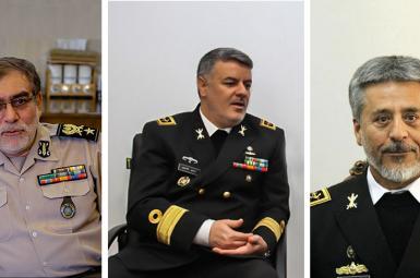 سه انتصاب جدید در ارتش جمهوری اسلامی
