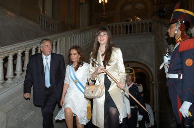 کریستینا فرناندز دی کرشنر رئیسجمهور پیشین آرژانتین