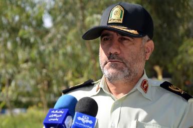 حسن رحیمی رئیس پلیس تهران بزرگ