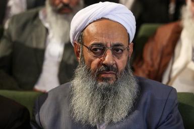 Mawlana Abdolhamid Esmaeel-Zehi the spiritual leader of Iran's Sunnis. FILE           LE