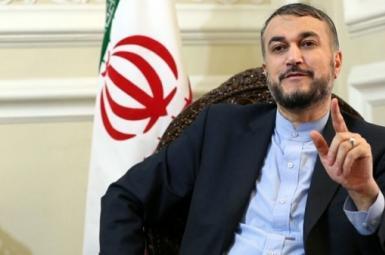Hossein Amir-Abdollahian, Iran's foreign minister. FILE PHOTO