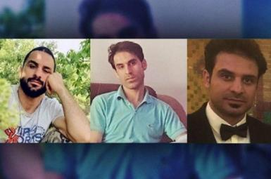 The Afkari brothers, arrested in Iran in 2018. Navid (L) was executed in 2020.