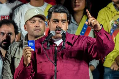 نیکلاس مادورو،رهبر حزب سوسیالیست ونزوئلا به عنوان پیروز انتخابات ریاست جمهوری اعلام شد.
