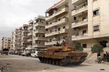 نیروهای ارتش ترکیه در عفرین سوریه