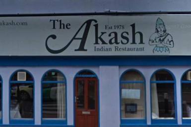 رستوران هندی آکاش