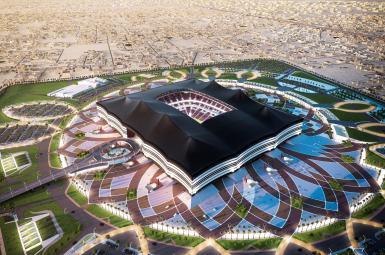 ماکت استادیوم مسابقات جام جهانی ۲۰۲۲ در قطر
