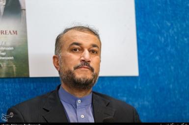 Iran's foreign minister Amir-Abdollahian. FILE PHOT
