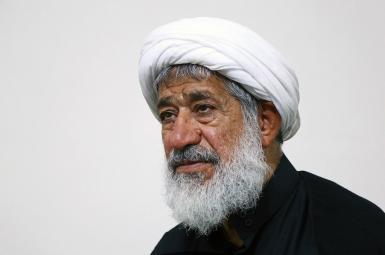 Mahmoud Amjad, a dissident cleric who has lambasted Supreme Leader Ali Khamenei. FILE