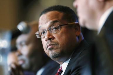 کیث الیسون (Keith Ellison)، قانونگذار آمریکایی و فرد دوم در رهبری حزب دموکرات آمریکا