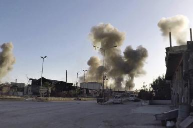 بمباران شیمیایی سوریه