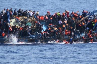 ۲۵ پناهجو در آبهای لیبی غرق شدند