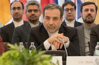 Iran's chief negotiator Abbas Araghchi at a JCPOA meeting. FILE