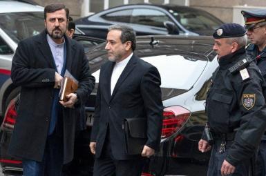 Iran's chief diplomat Abbas Araghchi in Vienna for nuclear talks. April 6, 2021