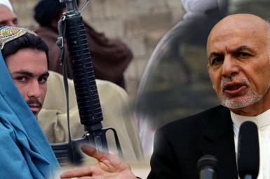 اشرف غنی رئیسجمهور افغانستان