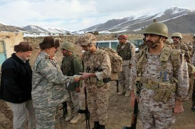 Mohammad Pakpour, commander of IRGC ground forces at the border with Azerbaijan. September 2020