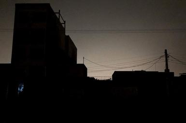Power outage in Tehran. July 3-4, 2021