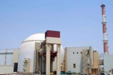 Iran's Bushehr nuclear reactor was built and is supported by Russia. FILE