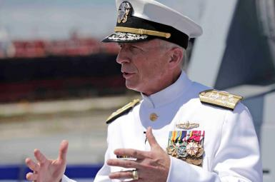 Admiral Craig Faller, commander of US Southern Command. FILE