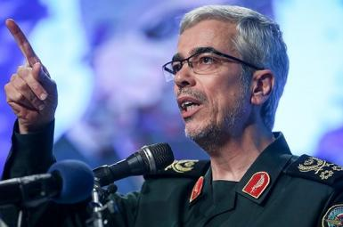 Major General Mohammad Bagheri, chief of Iran's joint military staff. File photo