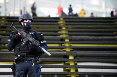Heavy security outside a Belgian court as an Iranian diplomat is convicted for a terror plot. February 4, 2021