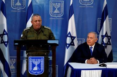 ژنرال گادی آیزنکوت و بنیامین نتانیاهو