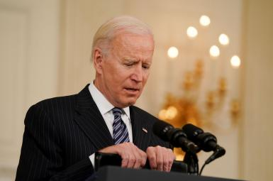 President Joe Biden speaking on Covid-19. April 6, 2021