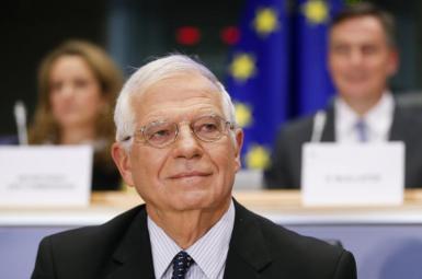 Josep Borrell, EU High representative for Foreign Affairs. FILE