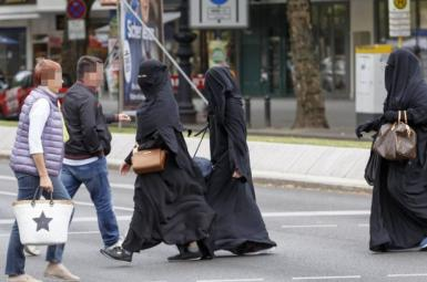 پوشیدن برقع و نقاب در دانمارک