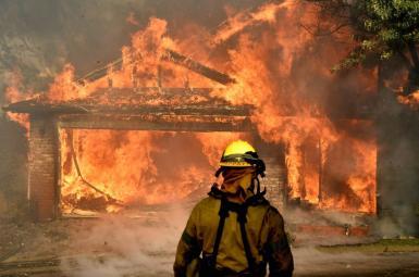 آتشسوزی در کالیفرنیای آمریکا
