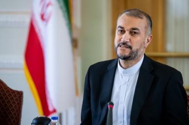 Hossein Amir-Abdollahian, Iran's foreign minster. FILE Photo